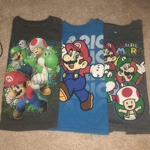 Super mario t-shirt bundle